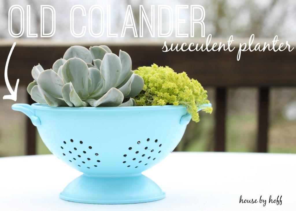 old colander 1