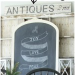 DIY Antiques Sign
