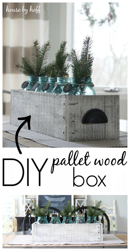 DIY Pallet Wood Box 1