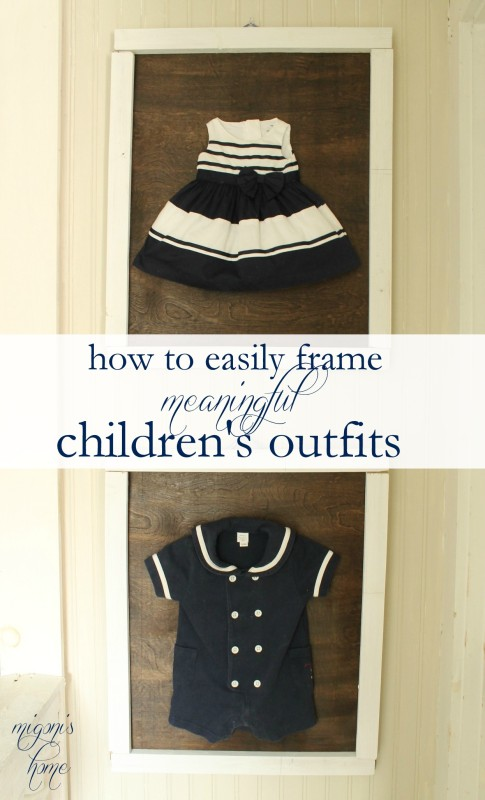 Framing Children's Outfits (2)
