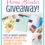 The Ultimate Home Binder Giveaway!