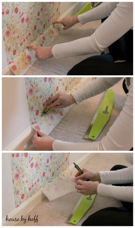 Installing Wallternative's Budquette Bari J Wallpaper