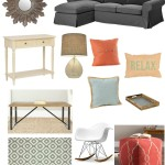 Mood Board for Cassidy's Living Room