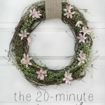 The 20-Minute Spring Wreath