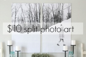 Split Photo Wall Art