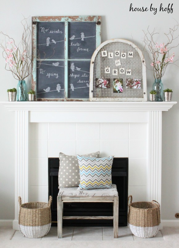 10 Spring Decor Ideas via House by Hoff