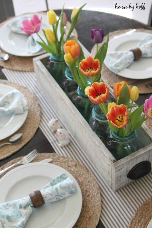 A Spring Tablescape via House by Hoff