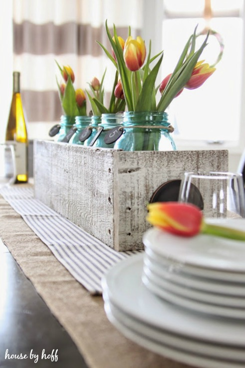 Spring Decorating in the Dining Room via House by Hoff 8