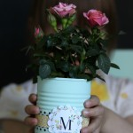 Painted Tin Can Mother's Day Gift via House by Hoff