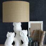 A Spray Painted Lamp