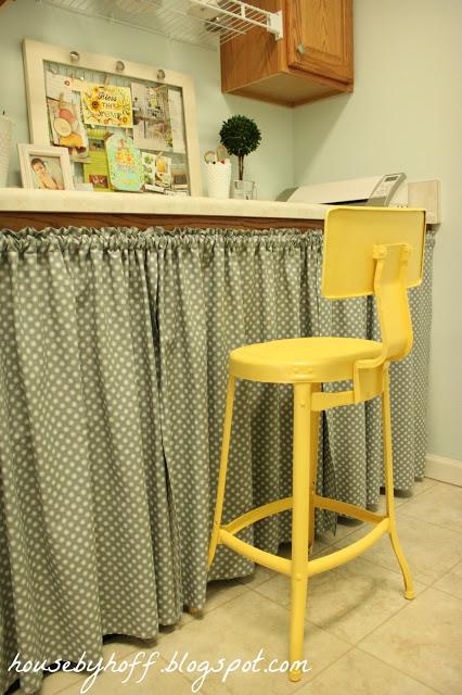 yellow stool 4