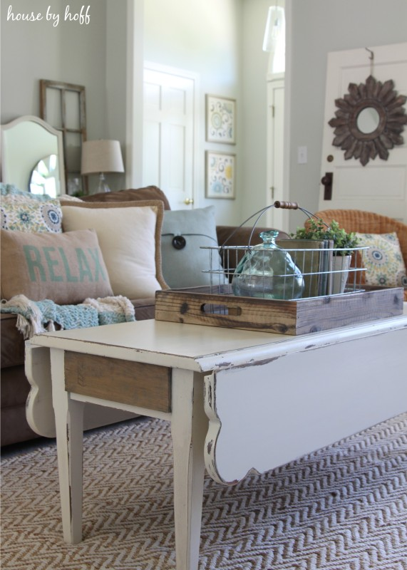 Coffee Table Makeover via House by Hoff