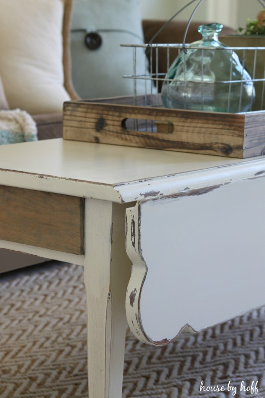 Coffee Table Makeover via House by Hoff2