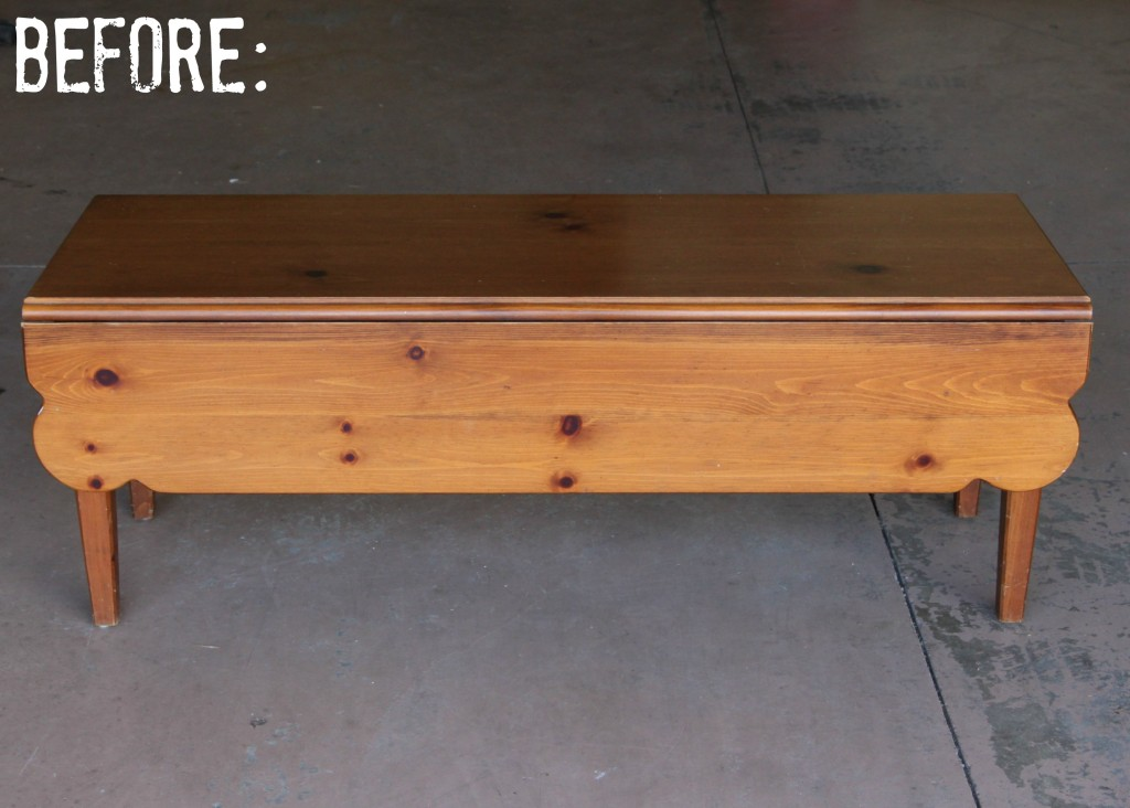 Coffee Table Makeover via House by Hoff7
