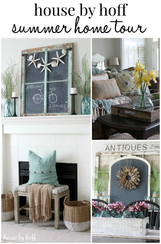 Summer Decorating Ideas via House by Hoff