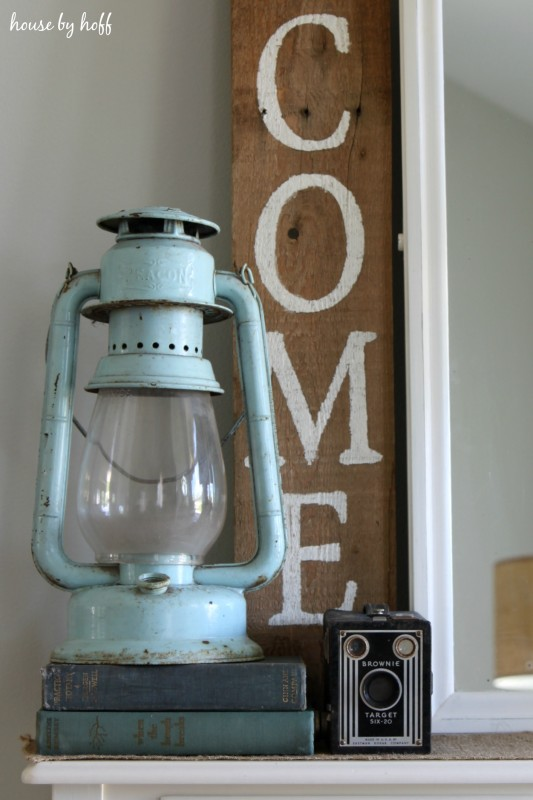Decorating With Garage Sale Finds via House by Hoff