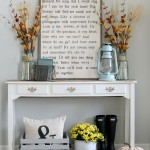 Fall Decorating via House by Hoff