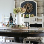 Fall Dining Room + 3 Tips for Fighting Through Decorating Dilemmas