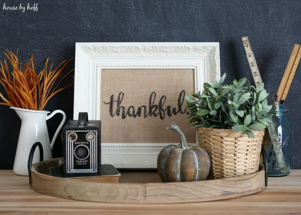How to Make Perfect Letters on Burlap via House by Hoff7