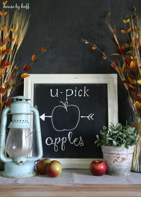 How to Make the Perfect Chalkboard Letters via House by Hoff