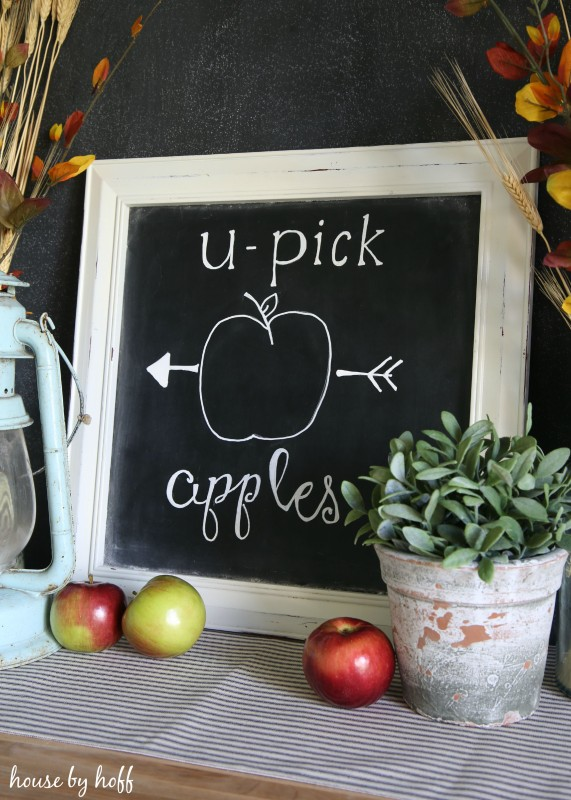 How to Make the Perfect Chalkboard Letters via House b Hoff