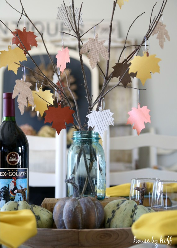 Antique Book Fall Table via House by Hoff 10