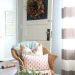 How to Upcycle an Old Door via House by Hoff4