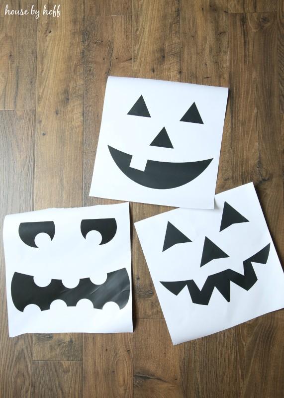 DIY Pumpkin Signs via House by Hoff