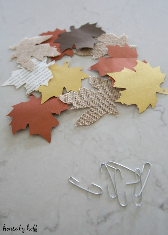 DIY Paper Leaf Tree via House by Hoff