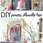 DIY Silhouette Princess Tree