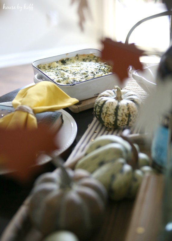 Easy Spinach Artichoke Dip via House by Hoff5