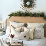 Holiday Decor in the Master Bedroom