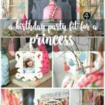 Princess 4th Birthday Party