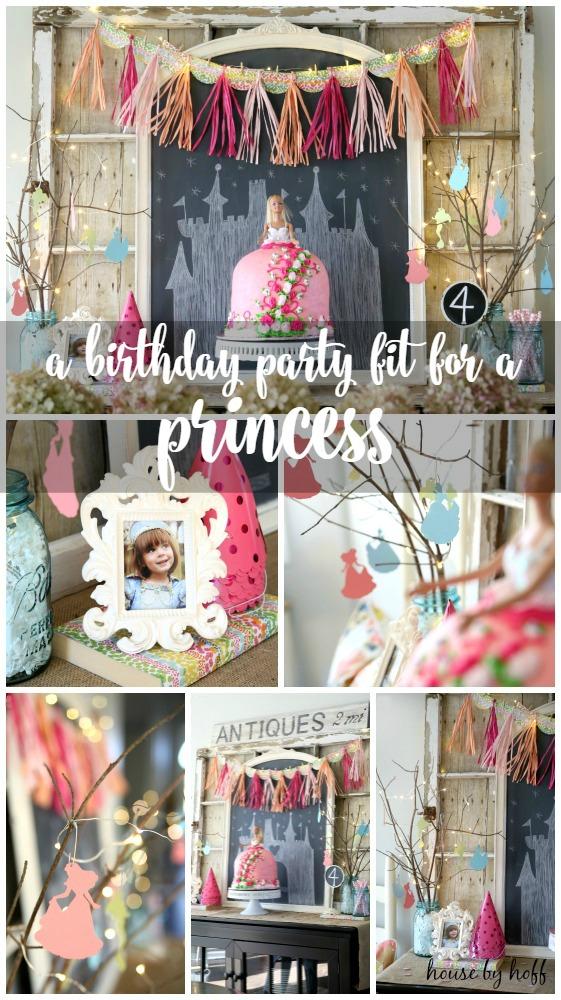 Princess 4th Birthday Party