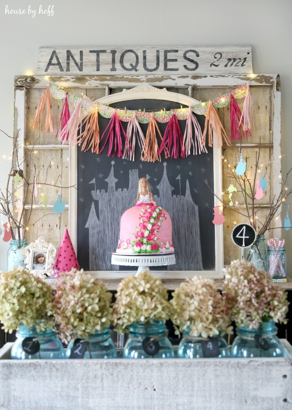 Princess Birthday Party via House by Hoff5