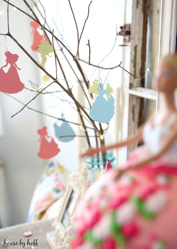 Princess Birthday Party via House by Hoff9