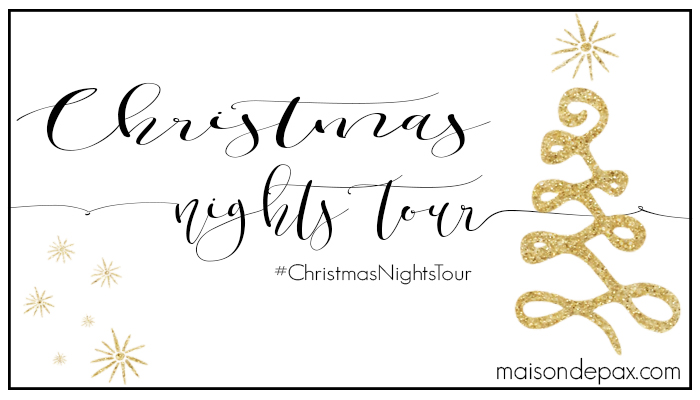 Christmas Nights Tour graphic.