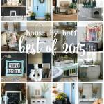 House by Hoff Best of 2015