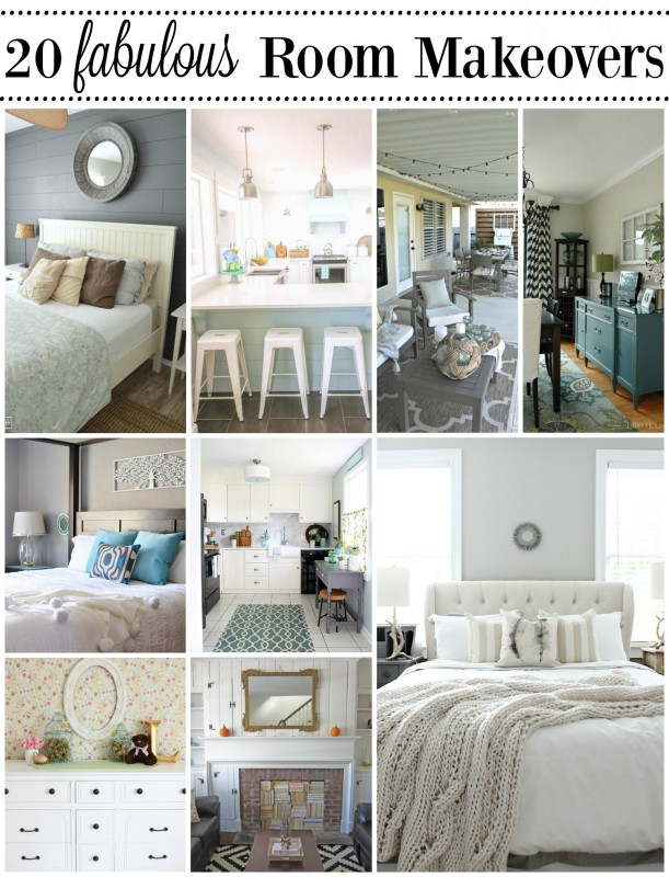 20 Fabulous Room Makeovers