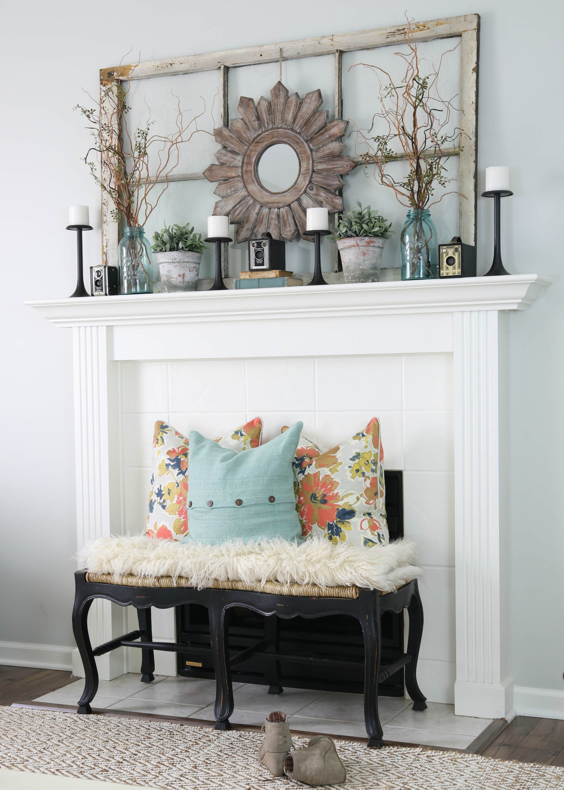 Cozy January Living Room
