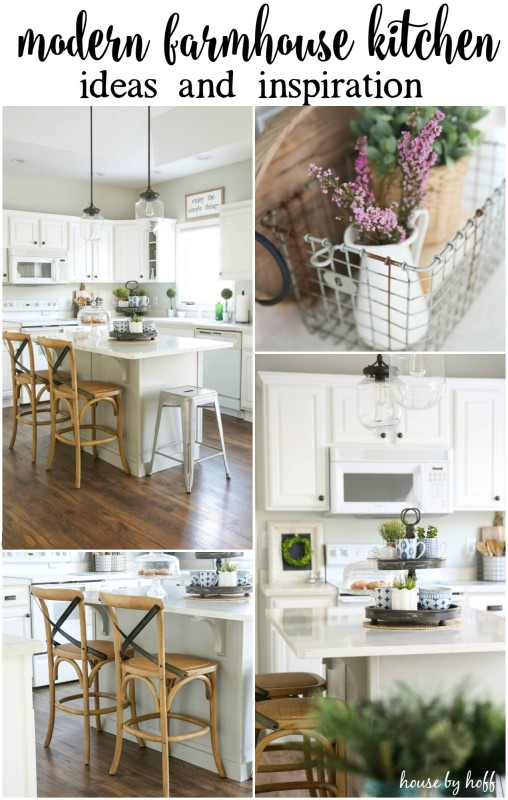 Modern Farmhouse Kitchen Ideas and Inspiration