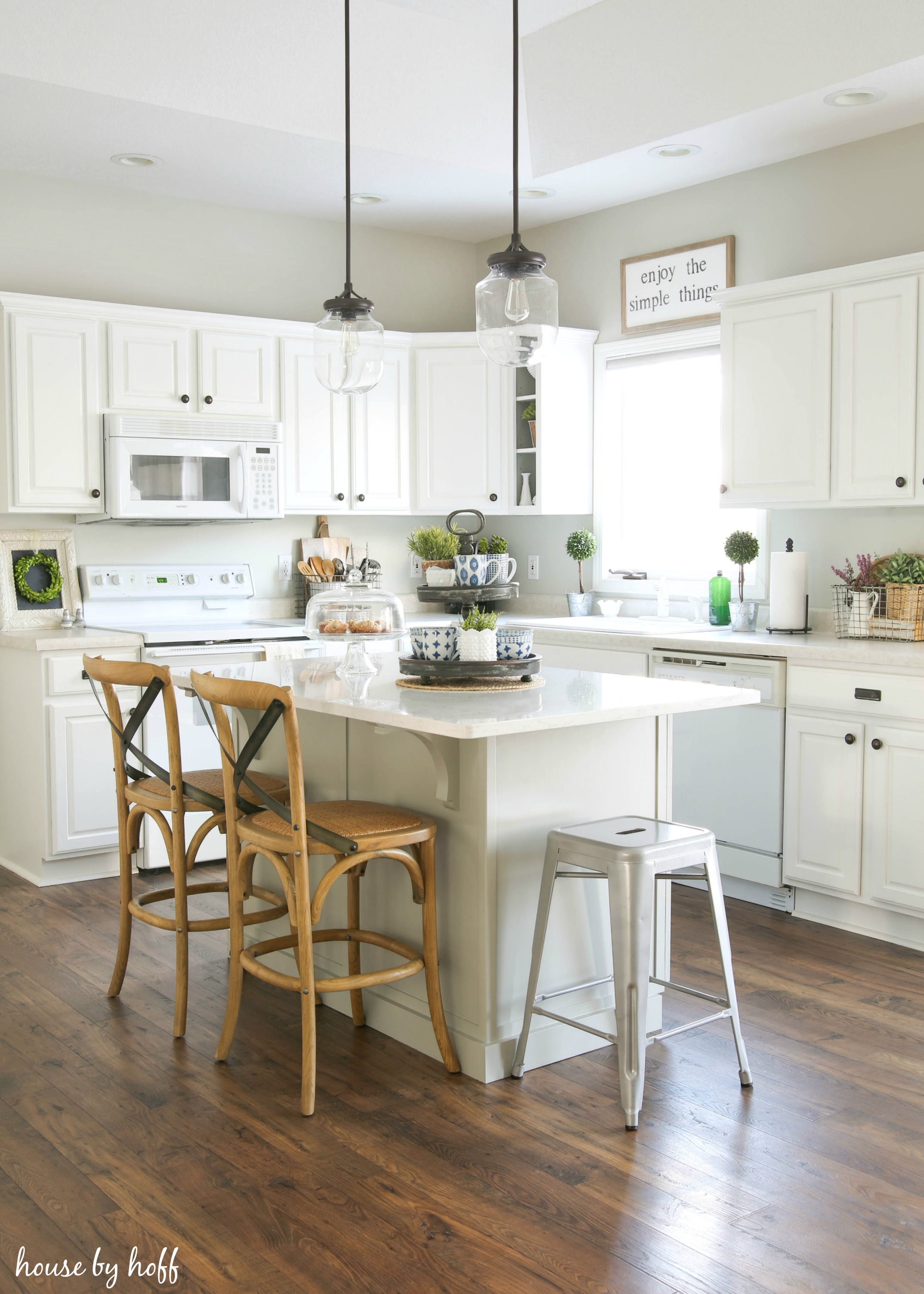 progress on my modern farmhouse kitchen house by hoff - Modern Farmhouse Kitchen
