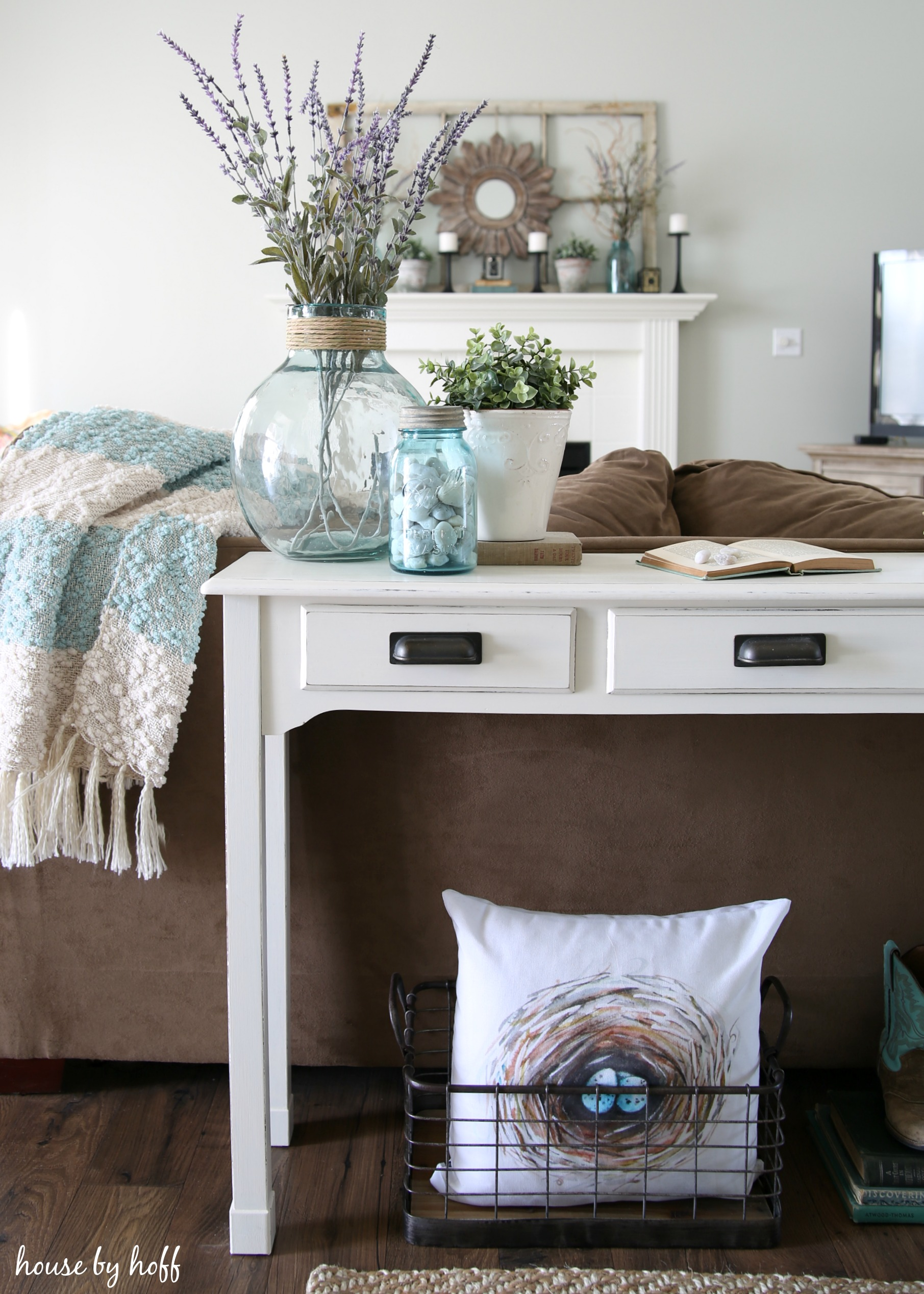 Console Table Makeover Take 2 House By Hoff