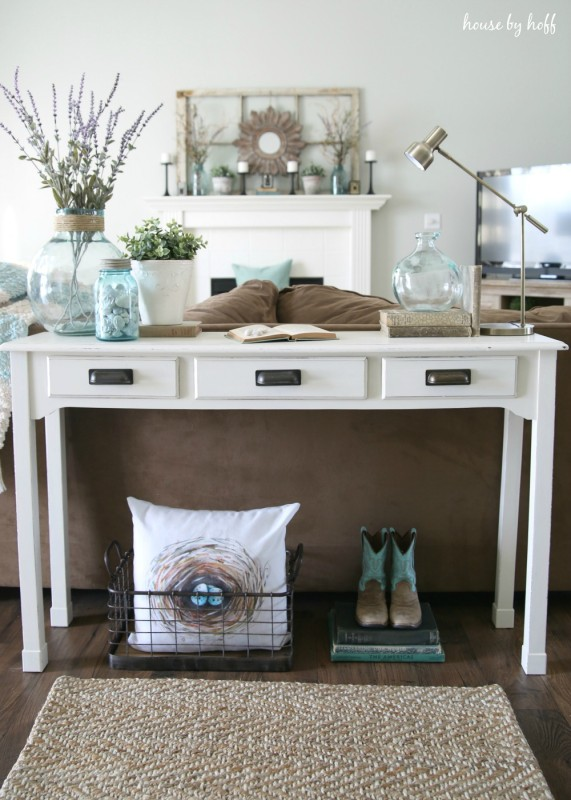 Etonnant Console Table Makeover Via House By Hoff