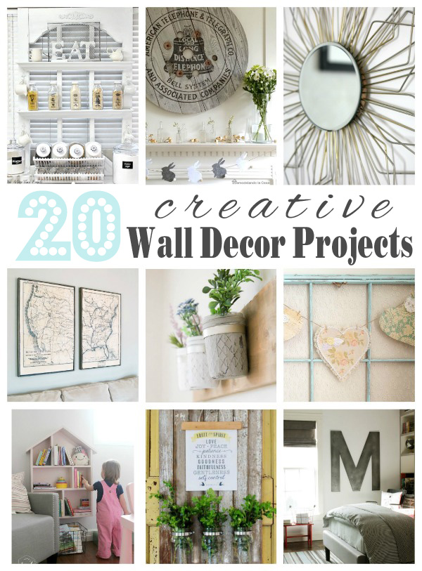 Creative Wall Decor Pinterest : Creative wall decor projects house by hoff