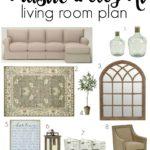 A Rustic and Elegant Living Room Plan via House by Hoff