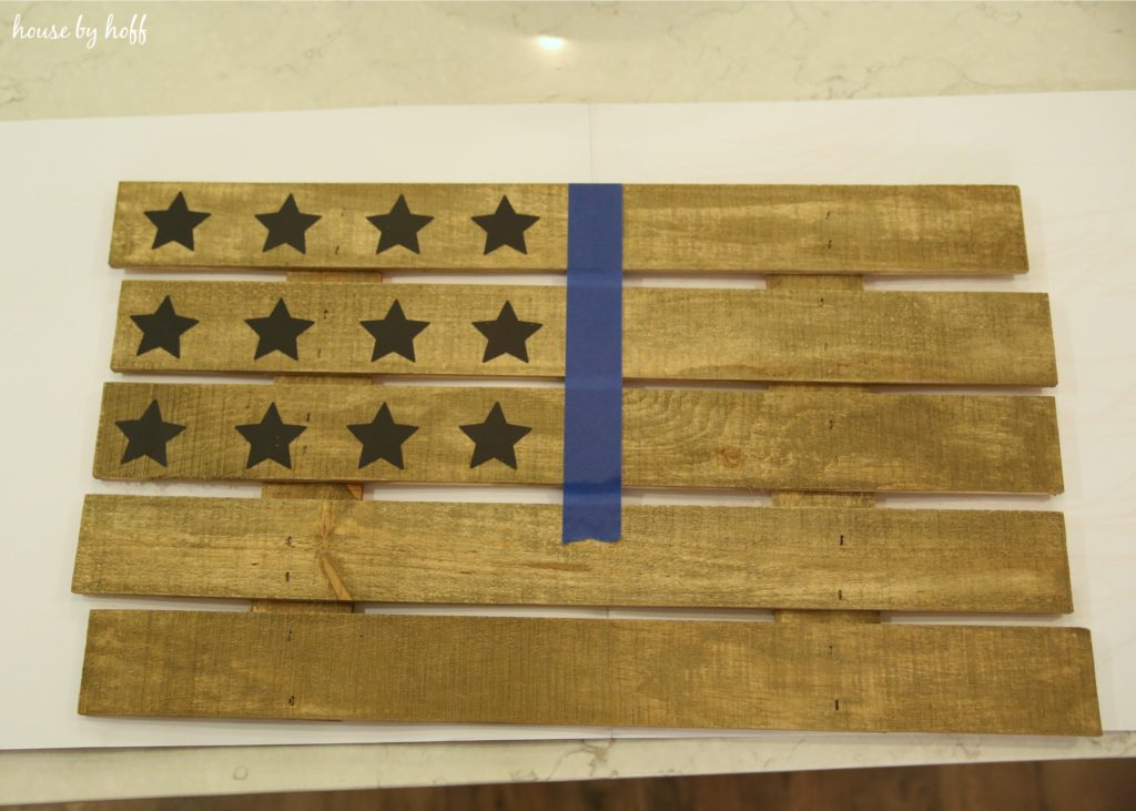 DIY Pallet Wood American Flag