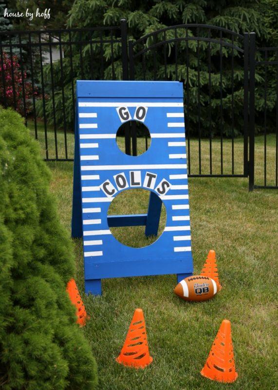 DIY Football Toss10