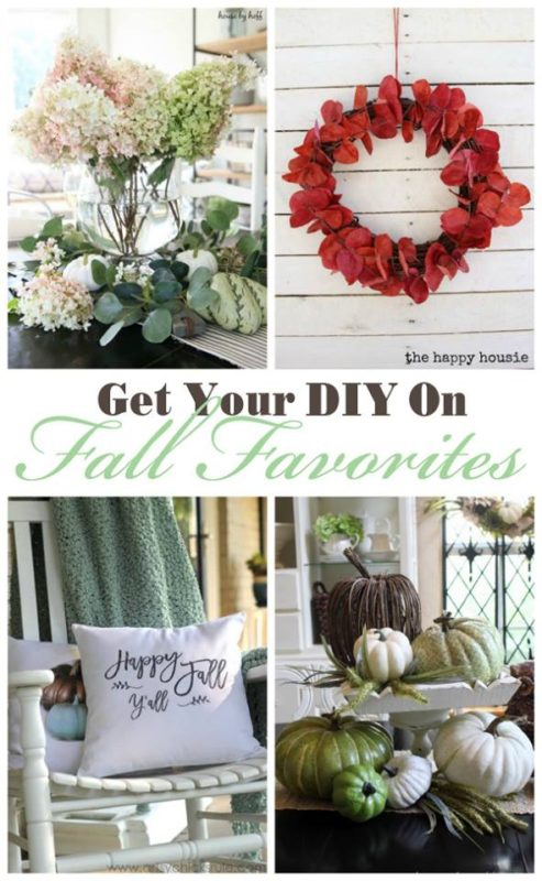 Get our DIY on Falll Favorites poster.