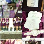 A Summer Barn Wedding with DIY Details via House by Hoff
